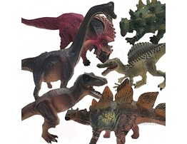 Sunfenle 6 Pack Dinosaur Toys,Dinosaurs Figurines Toy Realistic Dinosaur Figures Plastic Model Toy Set Great for Party Gift,Boys Girls Children's Birthday Gifts