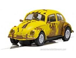 Scalextric Volkswagen Beetle Rusty Yellow 1:32 Slot Race Car C4045