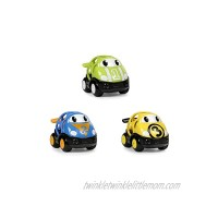 Oball 3 Piece Set Go Grippers Race Car Vehicles Ages 6 Months+