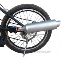 Bicycle Exhaust Sound System Bike Motorcycle Spoke Turbo Exhaust Pipe System