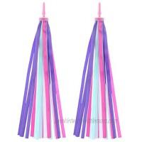 VORCOOL Kids Colourful Bike Streamers Tassel Ribbons for Boys Girls