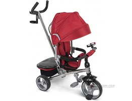 Huffy Malmö Luxe 4-in-1 Canopy Trike with Push Handle Cup Holder & Rear Storage