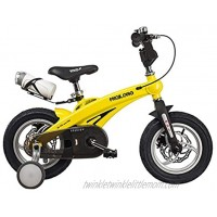 JLFSDB Kids Bike BMX Bike for Kids Boys Girls Bicycle Kids Bike,for 2-10 Years,Boy's Girl's Bicycle,Magnesium Alloy Childrens Scooter Bicycle with Training Wheels and Brake