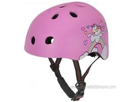 DR BIKE Kids Adjustable Helmet Suitable for 3-9 Years Boys & Girls Fun Design Lightweight Materials Multi-Sport Safety Cycling Skating Scooter Helmet Black Blue Fuchsia Purple