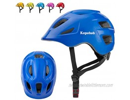Skateboard Cycling Helmet Kopobob ASTM & CPSC Certified BMX Helmet for Kids and Youth Blue S