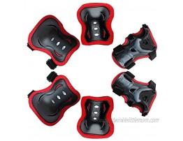 Child pad Set,Sports Guard Set Kids Protective Knee Pads Set for Roller Skating Cycling 1Set