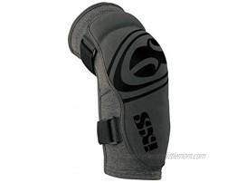 IXS Unisex Carve Evo+ Breathable Moisture-Wicking Padded Protective Elbow Guard Camel Kids Medium Grey