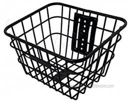 AIMINDENG Electric Scooter Basket Fit for Xiaomi M365 Stainless Head Handle Front Back Tool Practical Stable Carrier Hanging Bike Basket