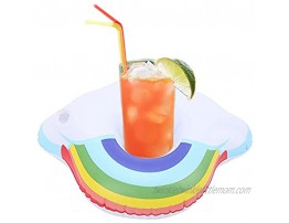 Inflatable Cup Holders Interesting Lightweight Cloud and Rinbow Inflatable Drink Holder for Pool Party for Hot Tubs for Kids