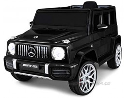 Kid Trax Electric Kids Luxury Mercedes Benz AMG G63 Car Ride-On Toy 6 Volt Battery Remote Control Ages 3-5 Years Black