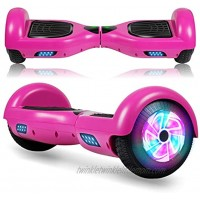 FLYING-ANT Hoverboard 6.5 Inch Self Balancing Hoverboards with LED Lights Hover Board for Kids Teenagers