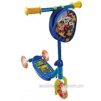 PlayWheels Paw Patrol 3-Wheel Scooter w Light Up Wheels Chase