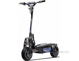 UberScoot 1600w 48v Electric Scooter Black Large