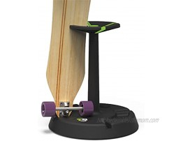 Parking Block Rotary Turntable 4-Up Skateboard Stand Display 4 Skateboards