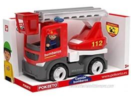 Pokeeto Fire Truck Spain 12685